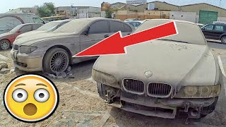 Dubai abandoned BMW cars E39, E46, E34. Amazing abandoned vehicles. Exclusive video