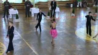 preview picture of video 'Bartek Gruszka & Magda Brągiel LĘDZINY 2012  ŁACINA FINAŁ'