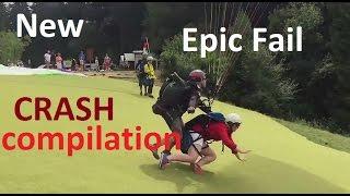 New Epic Crash Compilation Fail Paragliding