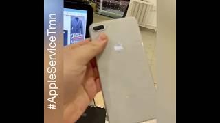 Замена Стекла дисплея и Стекла корпуса iPhone 8 Plus в Тюмени