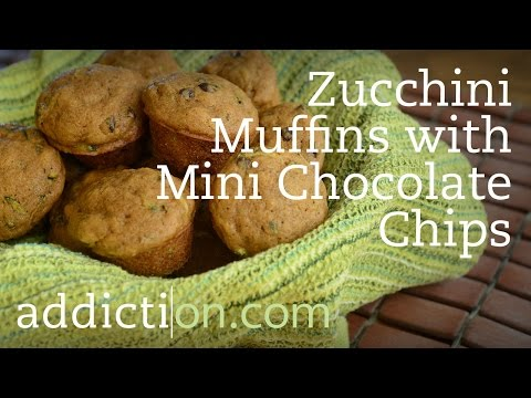 Recipes for Recovery: Zucchini Muffins with Mini Chocolate Chips