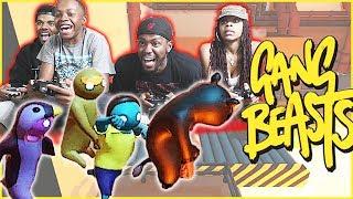 SUPER INTENSE INCINERATOR RACE! - Gang Beasts Gameplay