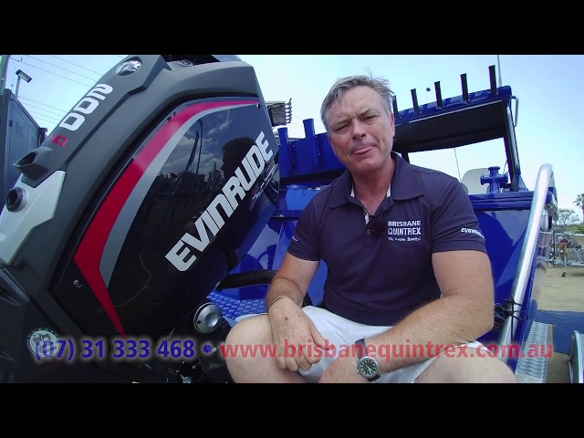 Yellowfin 7000 HT + Evinrude 200HP boat review | Brisbane Quintrex