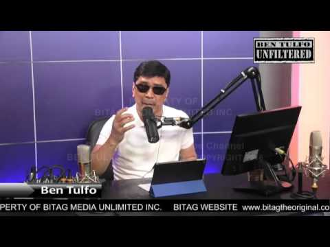 WATCH: BEN TULFO TO DE LIMA: SHUT UP! BITAG KA NA, HUMIHIRIT KA PA!