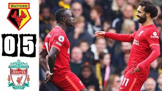 Watford vs Liverpool 0-5 – Extended Highlights & All Goals 2021 HD