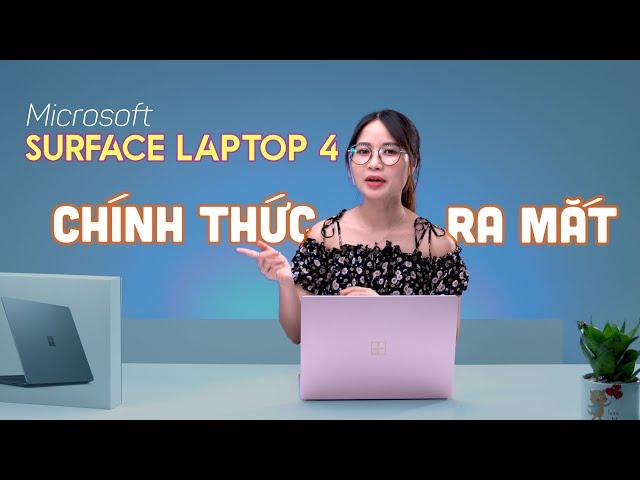 Microsoft Surface Laptop 4: Tùy chọn AMD, Cấu hình nâng cấp, Thời lượng Pin khủng