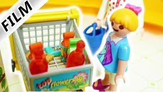 Playmobil Film deutsch | Einkaufen mit Hannah & Mama | Bleibt EIS PARTY geheim?  Familie Vogel
