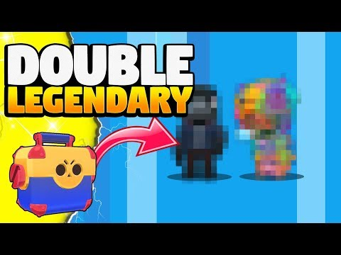 TWO LEGENDARY BRAWLERS |  6000 Gems | Mega Box Opening and Pull
