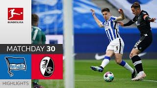 Hertha 3-0 Freiburg Pekan 30