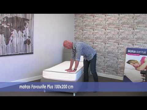 100x200 pocketvering matras Favourite PLUS | Matrasaanhuis.nl