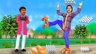 चक्केवाला जूता - Jadui Juta Hindi Kahaniya Funny Comedy Videos हिंदी कहानियां Panchatantra Stories