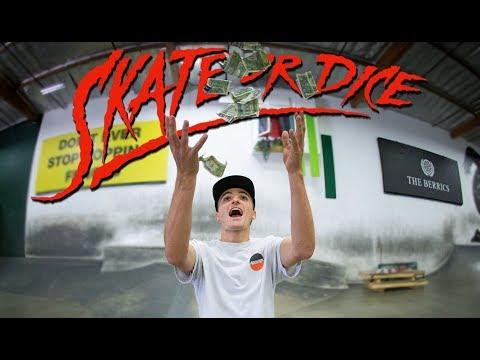 Can France's Best Vincent Milou Break The Berrics Bank?   Skate Or Dice!