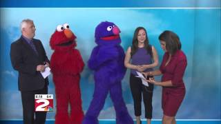 Elmo and Grover come to NewsChannel 2