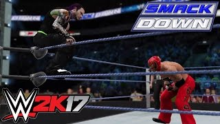 WWE 2K17 Simulation: Mysterio vs Kane vs Hardy vs Jericho - SD 01/05/09
