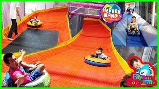 น้องบีม | สไลเดอร์โดนัท เล่นสวนสนุก HarborLand เกตเวย์บางซื่อ