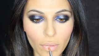 Blue Smoky Eye Tutorial | Makeup Tutorial | Teni Panosian