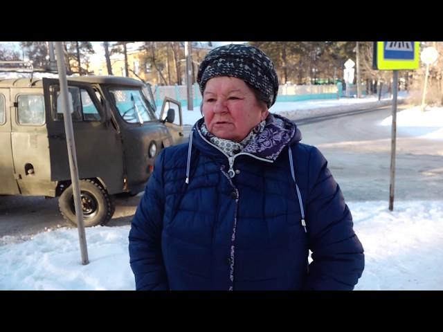Ангарчанка пострадала в ДТП