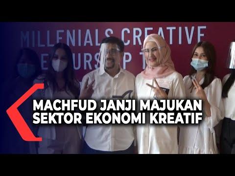 machfud arifin janji majukan sektor ekonomi kreatif