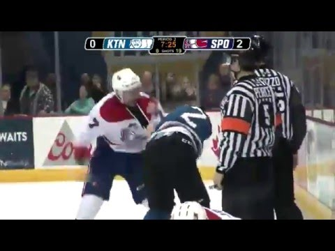 Evan Fiala vs. Troy Murray