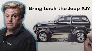 Revive The Jeep XJs Timeless Design? | Chip Foose Draws A Car - Ep. 10