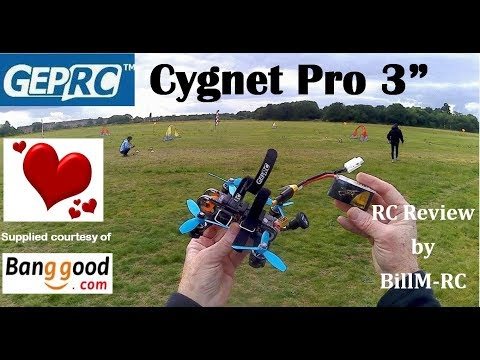 GepRC Cygnet3 Pro review with FPV Racing & Freestyle test flights