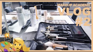 Makeup Academy Vlog # 2   Digital Face Charts + Work Experience March 2020