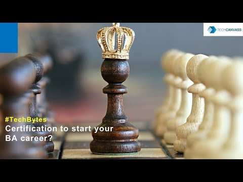 Best business analyst certification to start Business Analyst Career ...