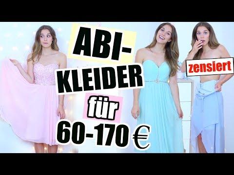 Ich probiere blind teure vs. günstige ABIBALL KLEIDER an!👗😧H&M, P&C, Vila, Esprit...♡ BarbaraSofie