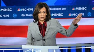 Kamala Harris and Tulsi Gabbard trade jabs during Democratic debate