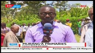 Governor Mwangi wa Iria and Kigumo Mp Jamleck Kamau accuse one another of rigging