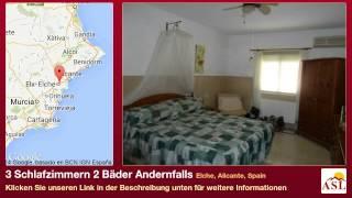 preview picture of video '3 Schlafzimmern 2 Bäder Andernfalls zu verkaufen in Elche, Alicante, Spain'