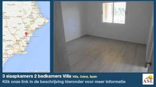 preview picture of video '3 slaapkamers 2 badkamers Villa te Koop in Villa, Catral, Spain'