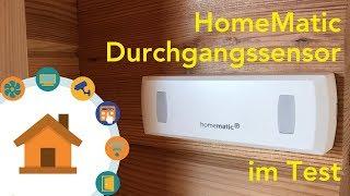 HomeMatic IP Durchgangssensor im Test | verdrahtet.de [4K]