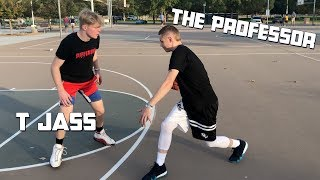 The Professor tries T jass crazy layup package.. Then teaches him signature moves