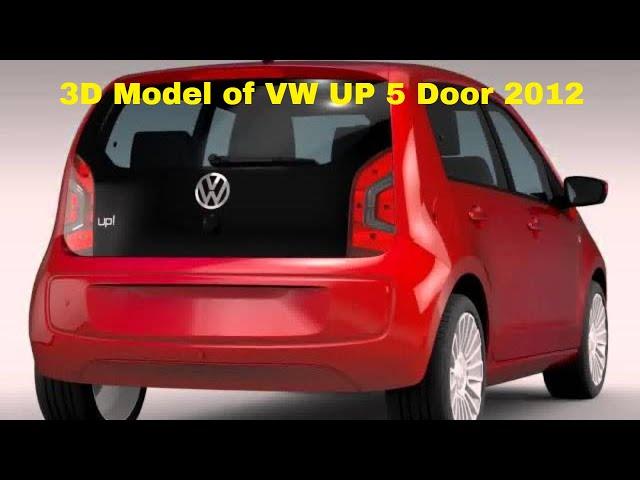 VW UP 5 door 2012