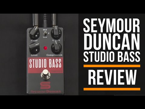 Seymour Duncan Studio Bass Compressor Pedal Review | Guitar Interactive Magazine