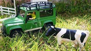 Toys. Ферма для детей. Как сделать конюшню для лошади