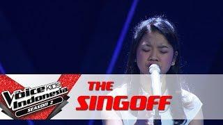 "Anggis ""Always On My Mind"" | Sing Off | The Voice Kids Indonesia Season 2 GTV 2017"