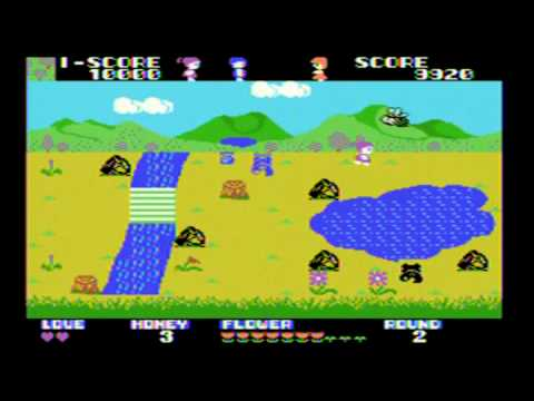 Girl's Garden Review ColecoVision