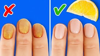 16 SIMPLE BEAUTY HACKS FOR A SMALL PROBLEMS