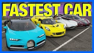 Forza Horizon 4 : FASTEST CAR IN THE GAME!! (Forza Science)