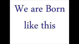 Born Like This (Written and performed by Charles Bukowski)