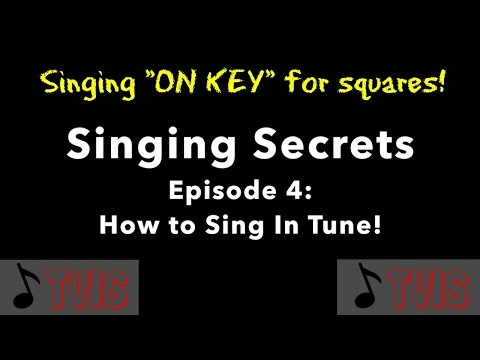Tips for singers who want to improve their vocal intonation (pitch accuracy)!