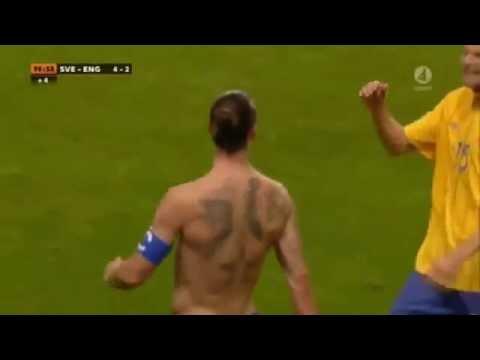 Zlatan İbrahimovic  Rövaşata Golü - Ters Açı İsveç 4-2 İngiltere) 14.11.2012