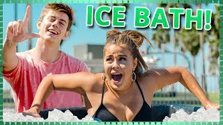 Ice Bath Challenge! | Do It For The Dough W/ Tessa Brooks And Chance Sutton