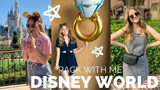 Disney World Outfits// PACK WITH ME! Makeup + Outfits