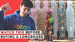 WHAT LONGBOARD TO BUY