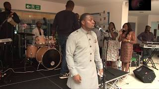 Dayo Bello Keeps It Gospel At A Wedding