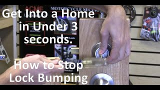What is Lock Bumping - How to Stop Bump Keys