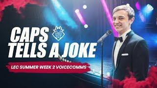 LEC : les « Voicecomms  »  de G2 et Fnatic semaine 2